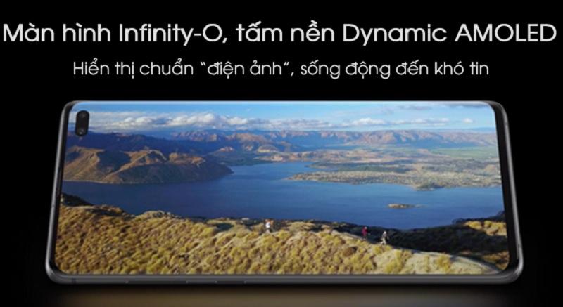 màn hình Samsung Galaxy S10+ Mỹ