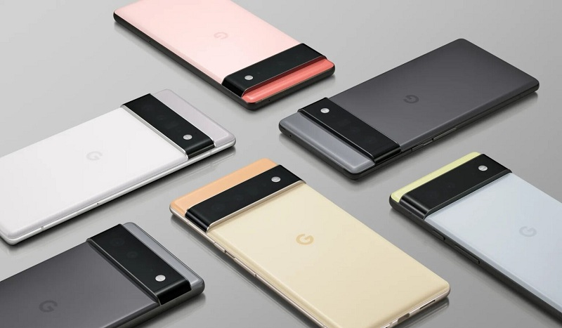 pin Google Pixel 6 Pro