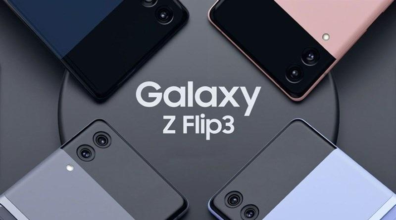 màu sắc Samsung Galaxy Z Flip 3
