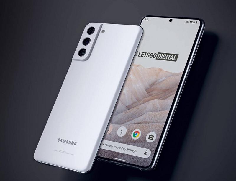 ngoại hình Samsung Galaxy S21 FE 5G