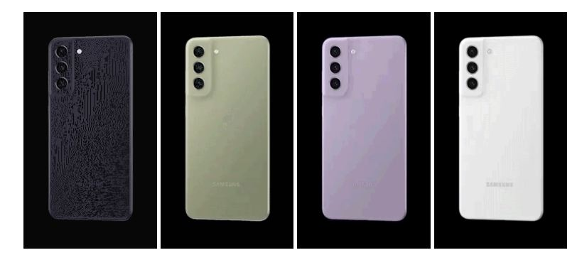 màu sắc Samsung Galaxy S21 FE 5G