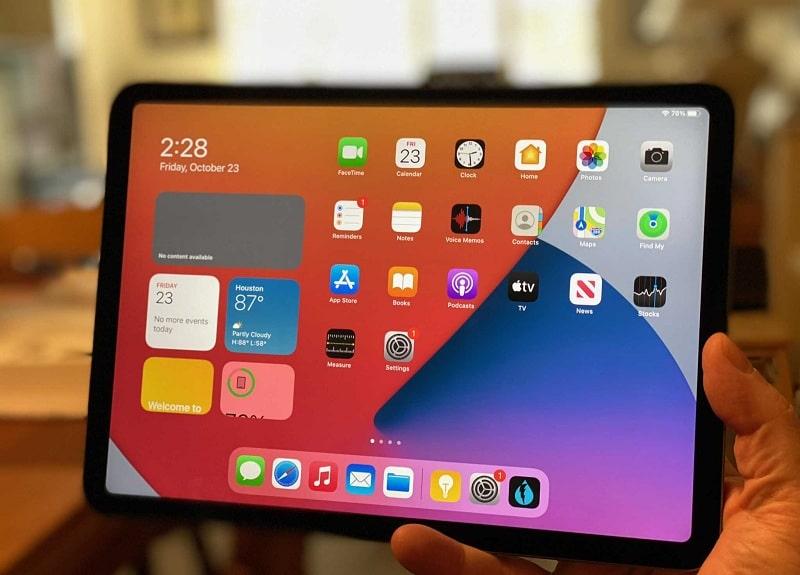màn hình iPad Air 4 2020 Wifi 64GB Chính Hãng