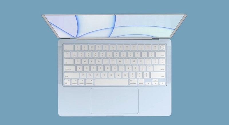 hiển thị Macbook Air M1X 2021
