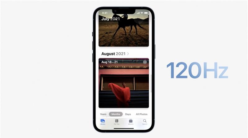 So sánh màn hình iPhone 13 Pro Max vs iPhone 12 Pro Max