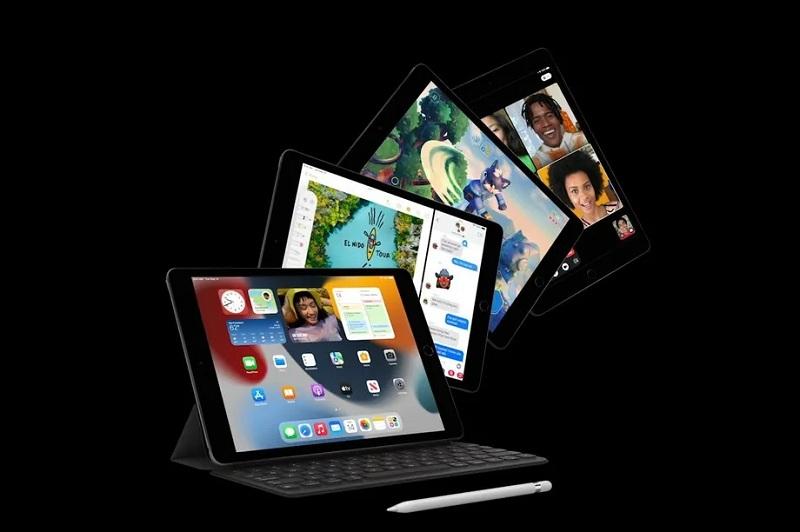 hiển thị iPad Gen 9 2021