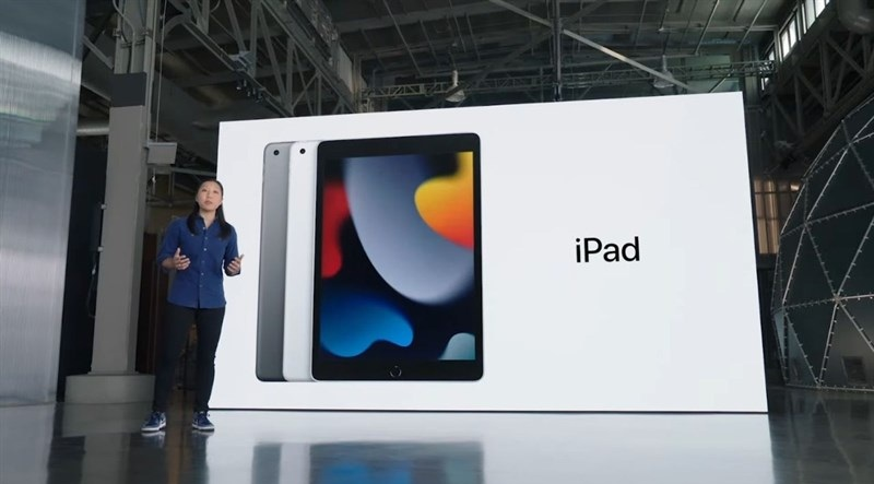 thiết kế iPad Gen 9 2021