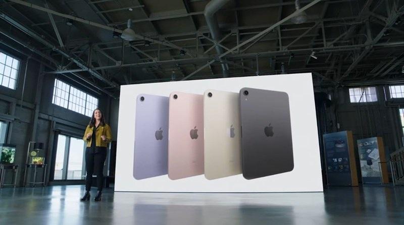 màu sắc iPad Mini 6