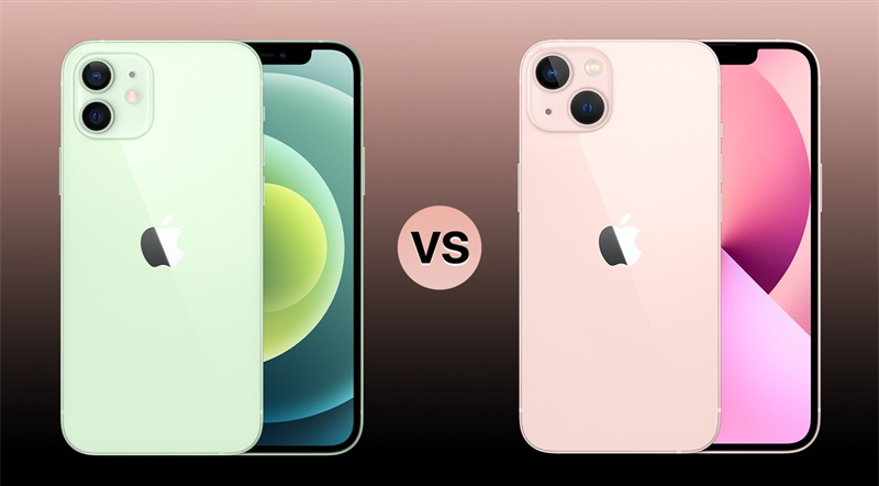 thiết kế iPhone 13 vs iPhone 12