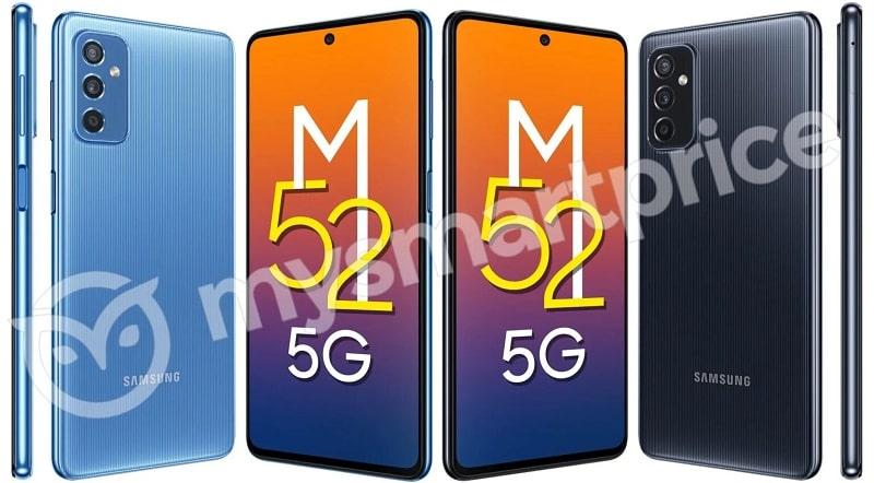 cấu hình Samsung Galaxy M52 5G