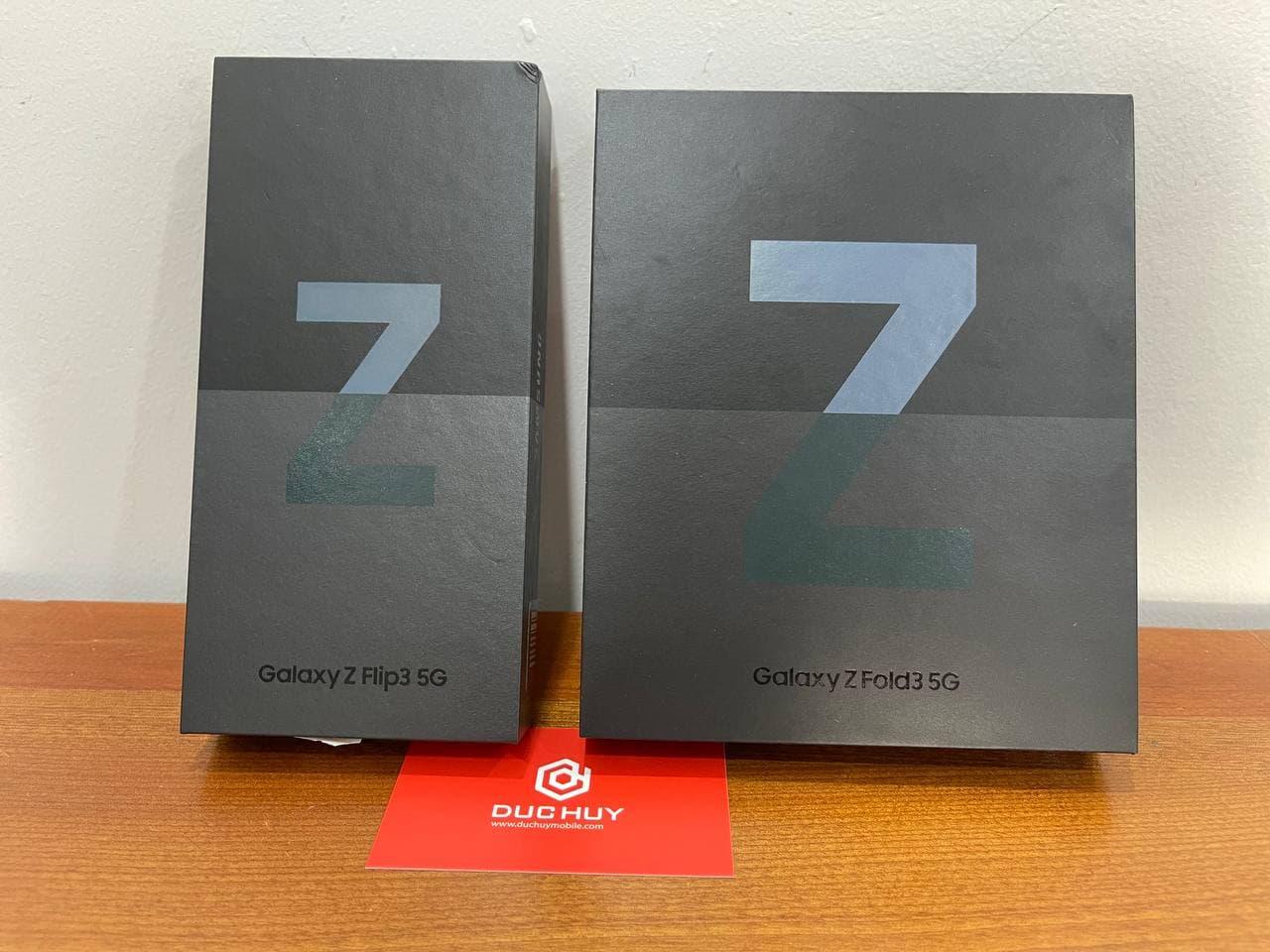 Galaxy Z Fold3 5G, Galaxy Z Flip3 5G
