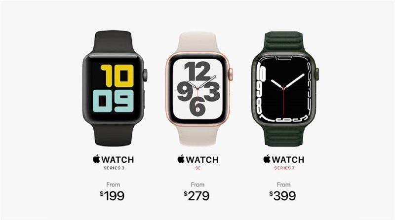 giá bán Apple Watch Series 7