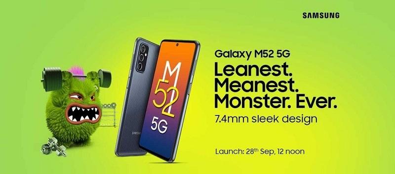 Samsung Galaxy M52 5G bao giờ ra mắt