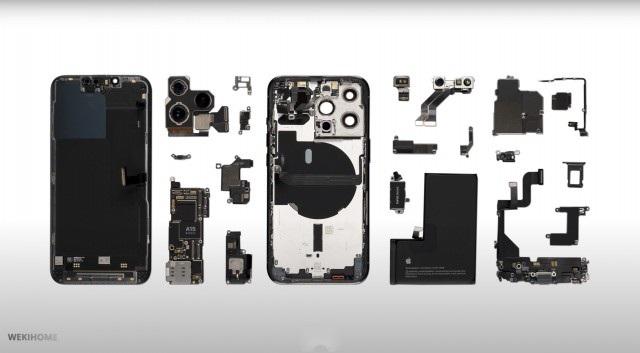 bảng mạch pin iPhone 13 Pro