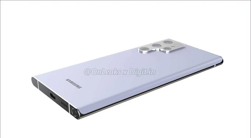 thiết kế Samsung Galaxy S22 Ultra 5G