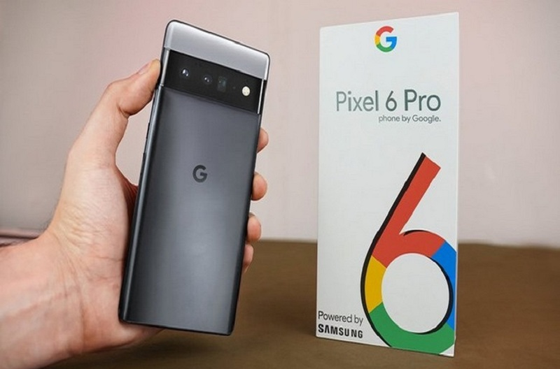Đập hộp Google Pixel 6 Pro