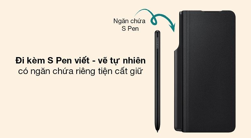 mua bao Da Kèm Bút S-Pen Samsung Galaxy Z Fold 3 5G