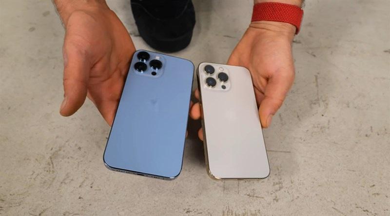Thử độ bền iPhone 13 Pro Max
