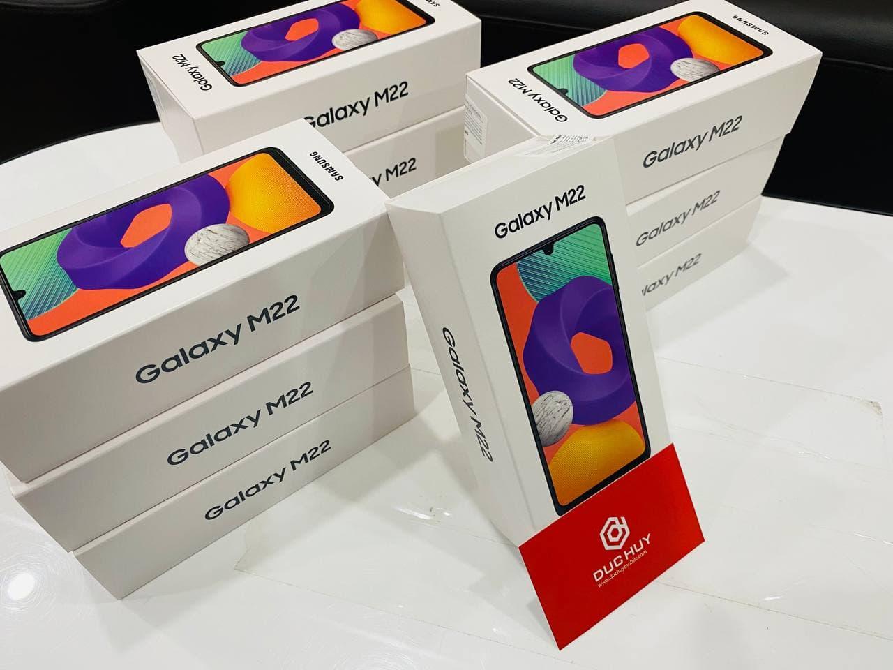 số lượng Samsung Galaxy M22