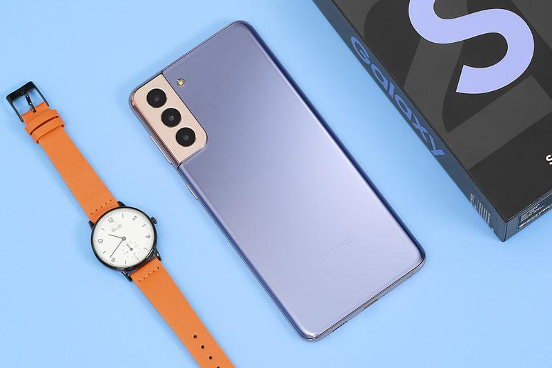 thiết kế Galaxy S21 Plus 5G