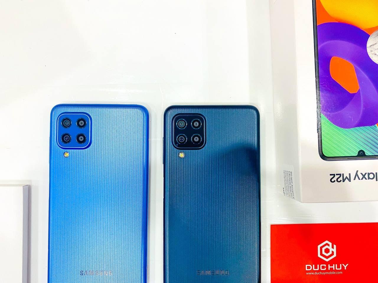 camera Samsung Galaxy M22