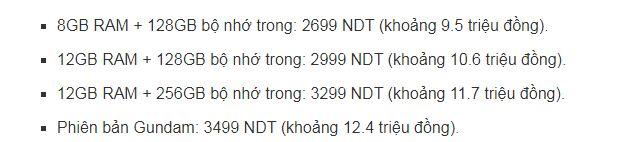 giá XiaomiBlack Shark 4S Pro