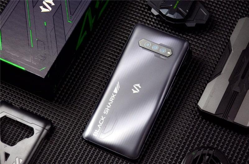 thiết kế Xiaomi Black Shark 4S Pro