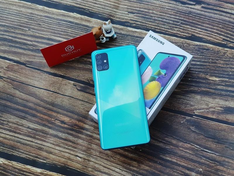 thiết kế Samsung Galaxy A51