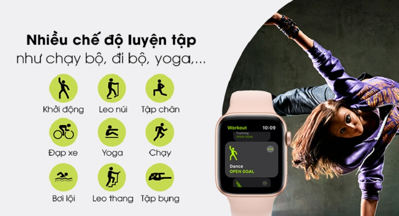 thể dục Apple Watch SE