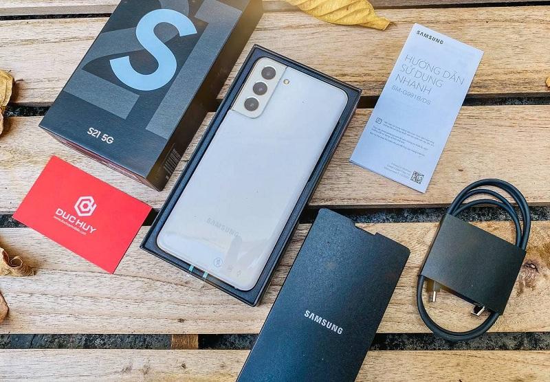 mở hộp Samsung Galaxy S21 5G