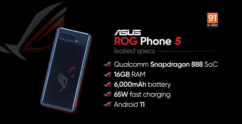 cấu hình ROG Phone 5