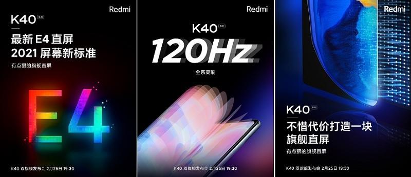 màn hình Redmi K40 Pro