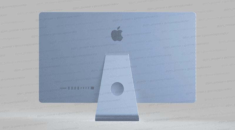 thiết kế iMac 2021