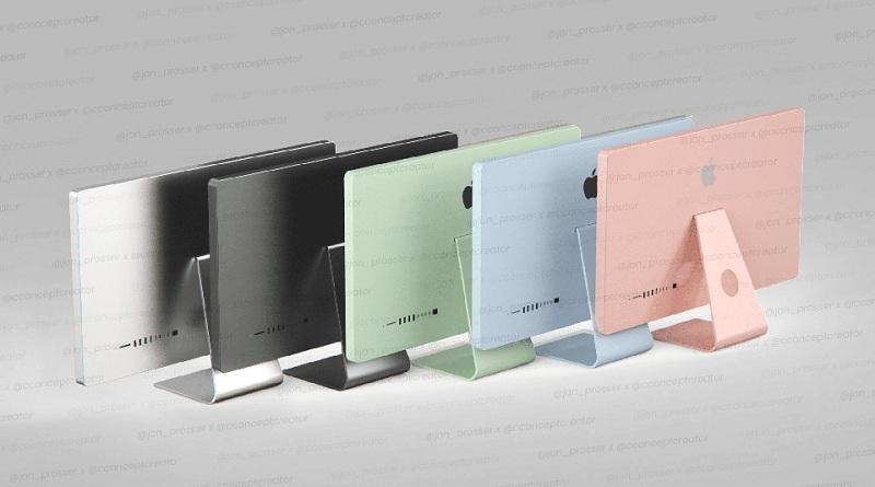 màu sắc iMac 2021