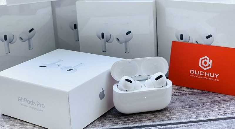 mở hộp AirPods Pro