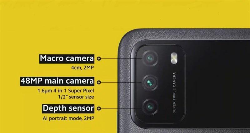 camera Xiaomi Poco M3