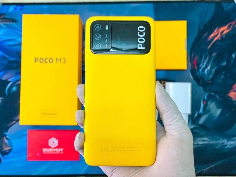 thiết kế Xiaomi Poco M3