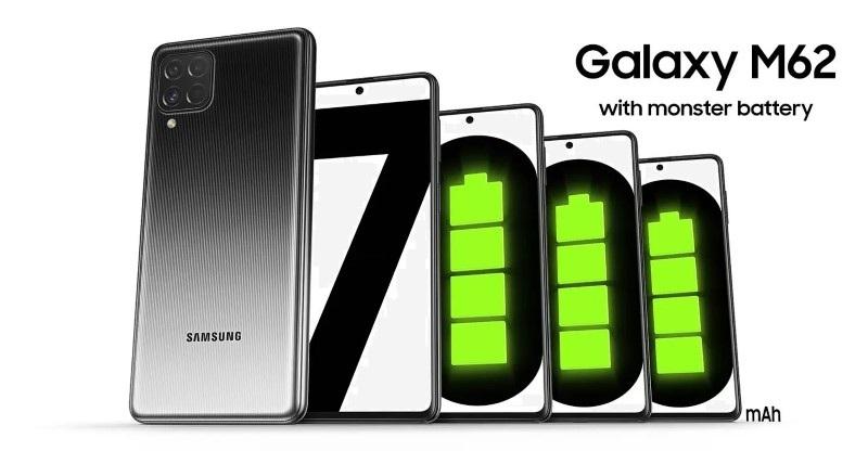 pin Galaxy M62
