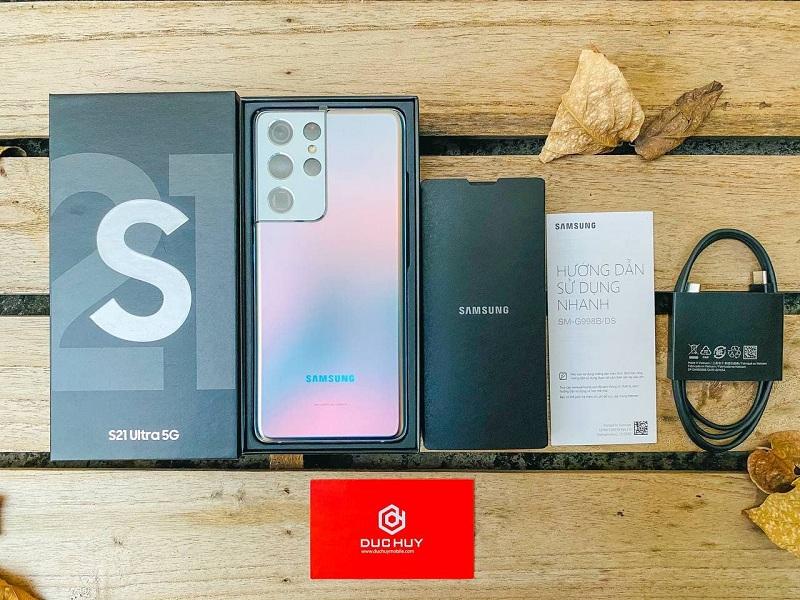Đập hộp Galaxy S21 Ultra 5G