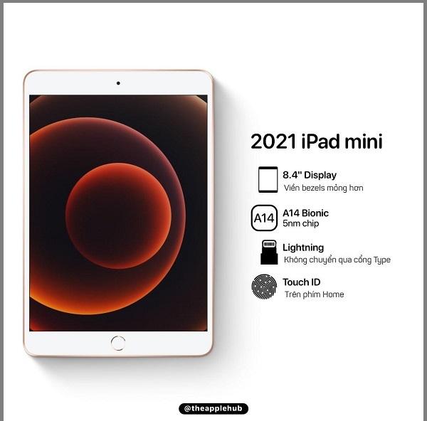 cấu hình iPad Mini 6