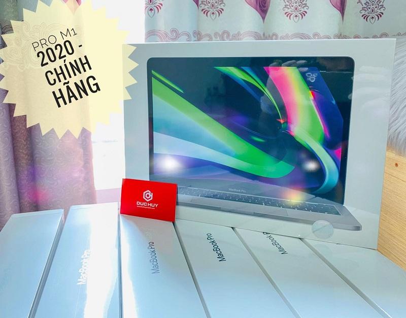 """MacBook Pro M1 13"""" 2020 chính hãng sẵn 256GB, 512GB..."""