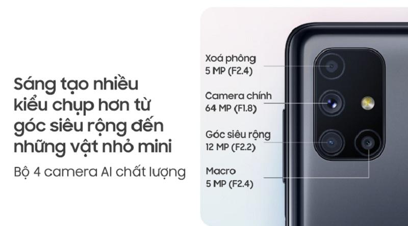 camera Galaxy M51 like new