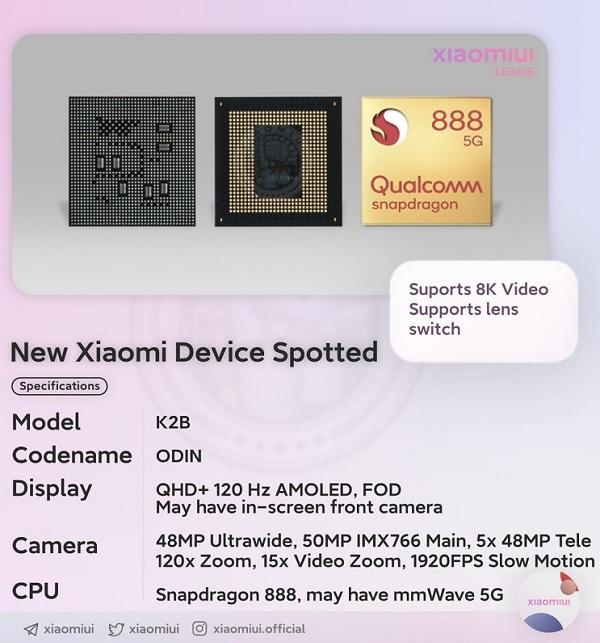 cấu hình Xiaomi Mi MIX 4