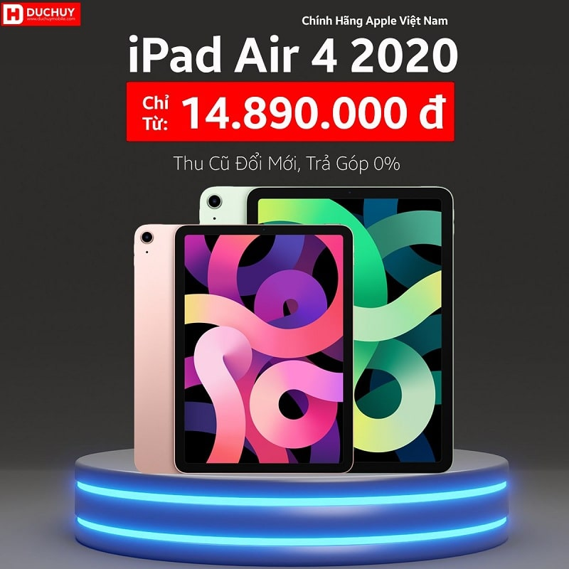 giá iPad Air 4 (2020) Wifi 64GB
