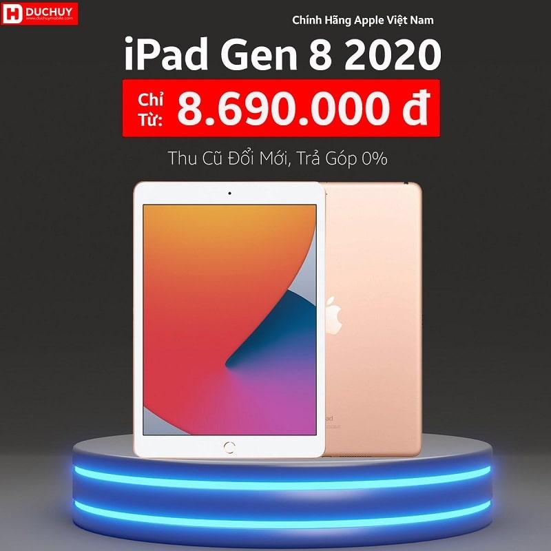giá iPad Gen 8 2020