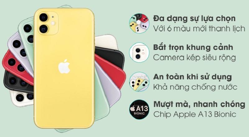 tính năng iPhone 11