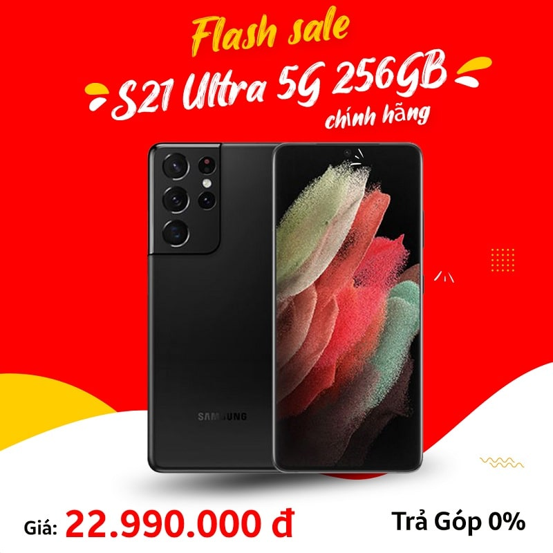 giá Galaxy S21 Ultra 5G 256GB