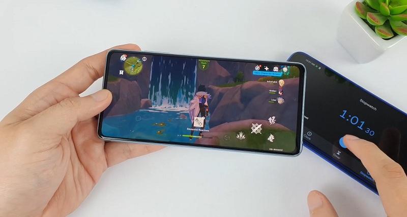 game trên Galaxy S20 FE Snapdragon 865