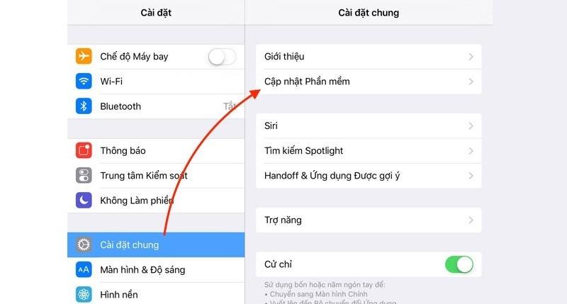 cách cập nhật iOS 14.5