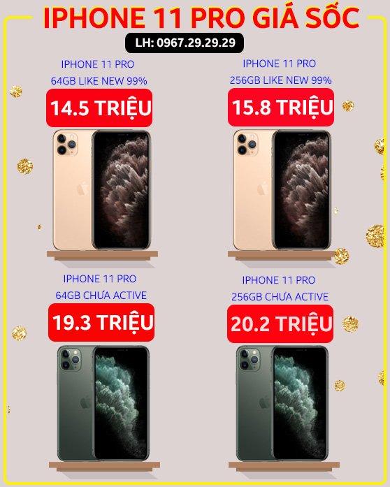 giá iPhone 11 Pro