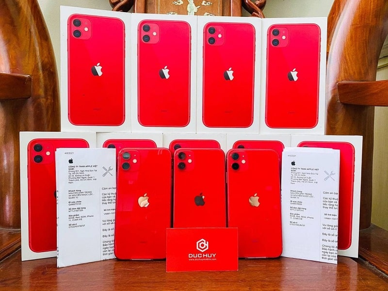 số lượng iPhone 11